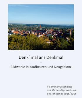 "Broschüre ""Denk' mal ans Denkmal"""